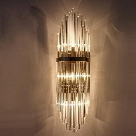 Amazon.com: post-modern Crystal Mesita de noche lámpara de ...