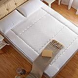 DHWJ Padded mattress Air mattress Collapsible non-slip soft mat Twin pads-A 150x200cm(59x79inch)