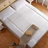 DHWJ WCCT Padded mattress,Air mattress,Collapsible non-slip soft mat,Twin pads-A 150x200cm(59x79inch)