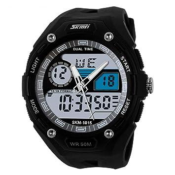 Yxx max Reloj Impermeable Reloj Deportivo para Hombre, Alpinismo Reloj electrónico para Hombre, al