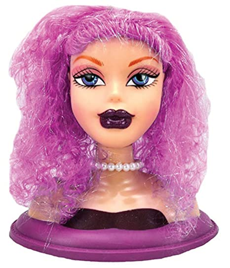 Frisierkopf Für Kinder Puppenkopf Stylingkopf Cool Model Pink