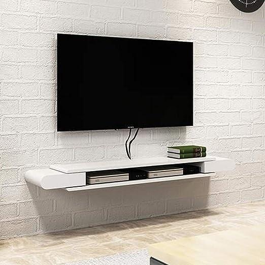 Antecedentes decoración de la pared del estante de TV Set Top Box ...
