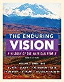 img - for 2: The Enduring Vision, Volume II: Since 1865 book / textbook / text book