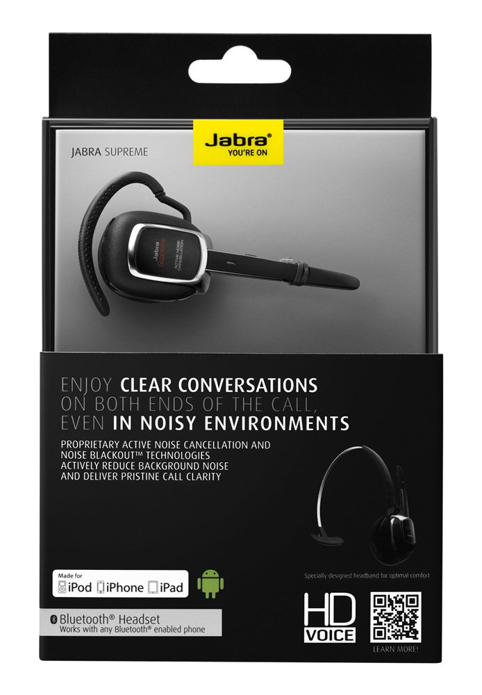 Amazon.com: Jabra Supreme Driver\u0027s Edition Bluetooth Headset