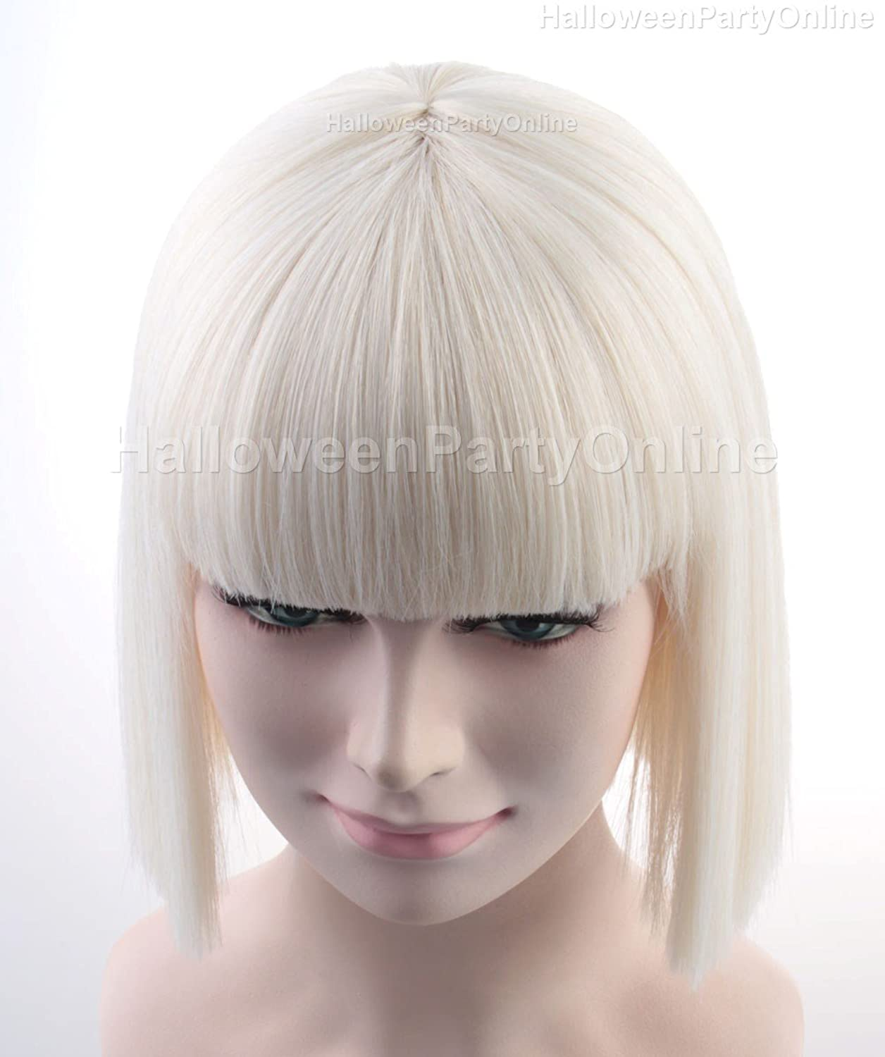 Amazon Halloween Party Online SIA Blonde Wig Costume Cosplay Idea HW 134 Clothing