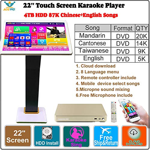 4TB HDD 87K Chinese songs,English Songs,22