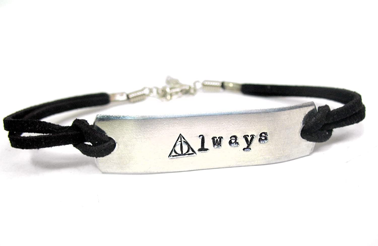 'Always' - Harry Potter Inspired ID-Style Hand Stamped Bracelet Foxwise AHPIDSB