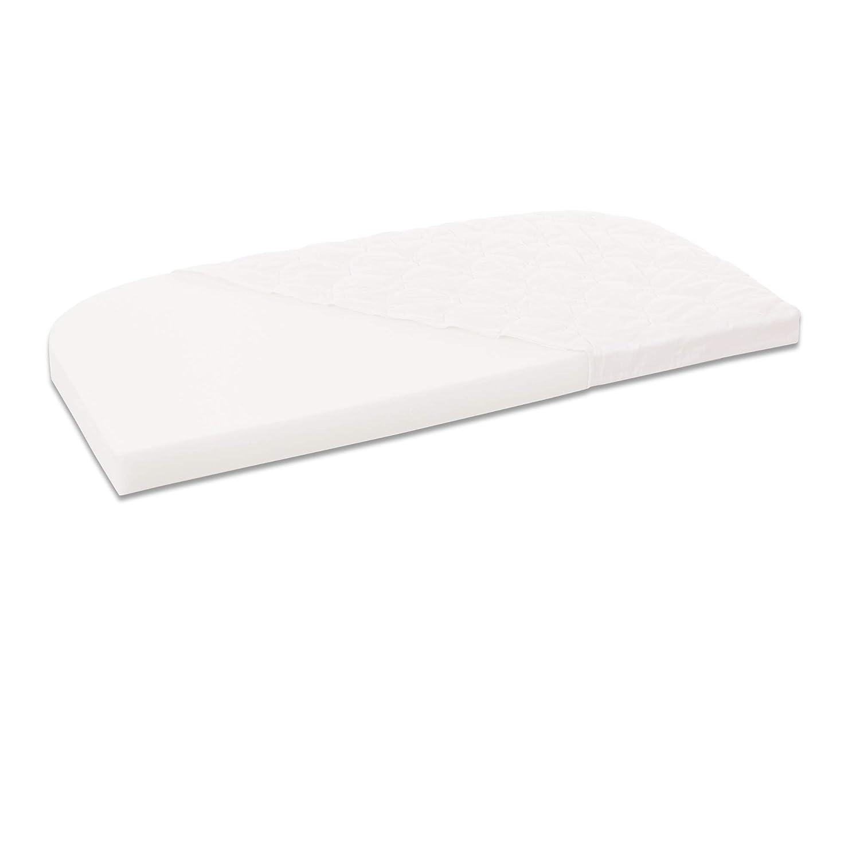Babybay 190536 Materasso Classic Cotton Soft per Comfort e Boxspring Comfort Bianco colore