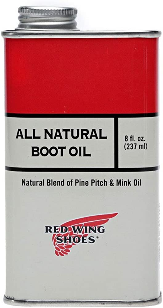 Red Wing Men's Boot Oil + Cloth Set