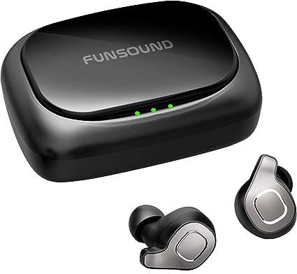 Amazon Com Brywin F8 True Wireless Earbuds Waterproof Ipx7 Bluetooth Earbuds Wireless Headphones Bluetooth Headphones Noise Cancelling Tws Wireless Earphones Bluetooth Wireless Headphones For Iphone Home Audio Theater
