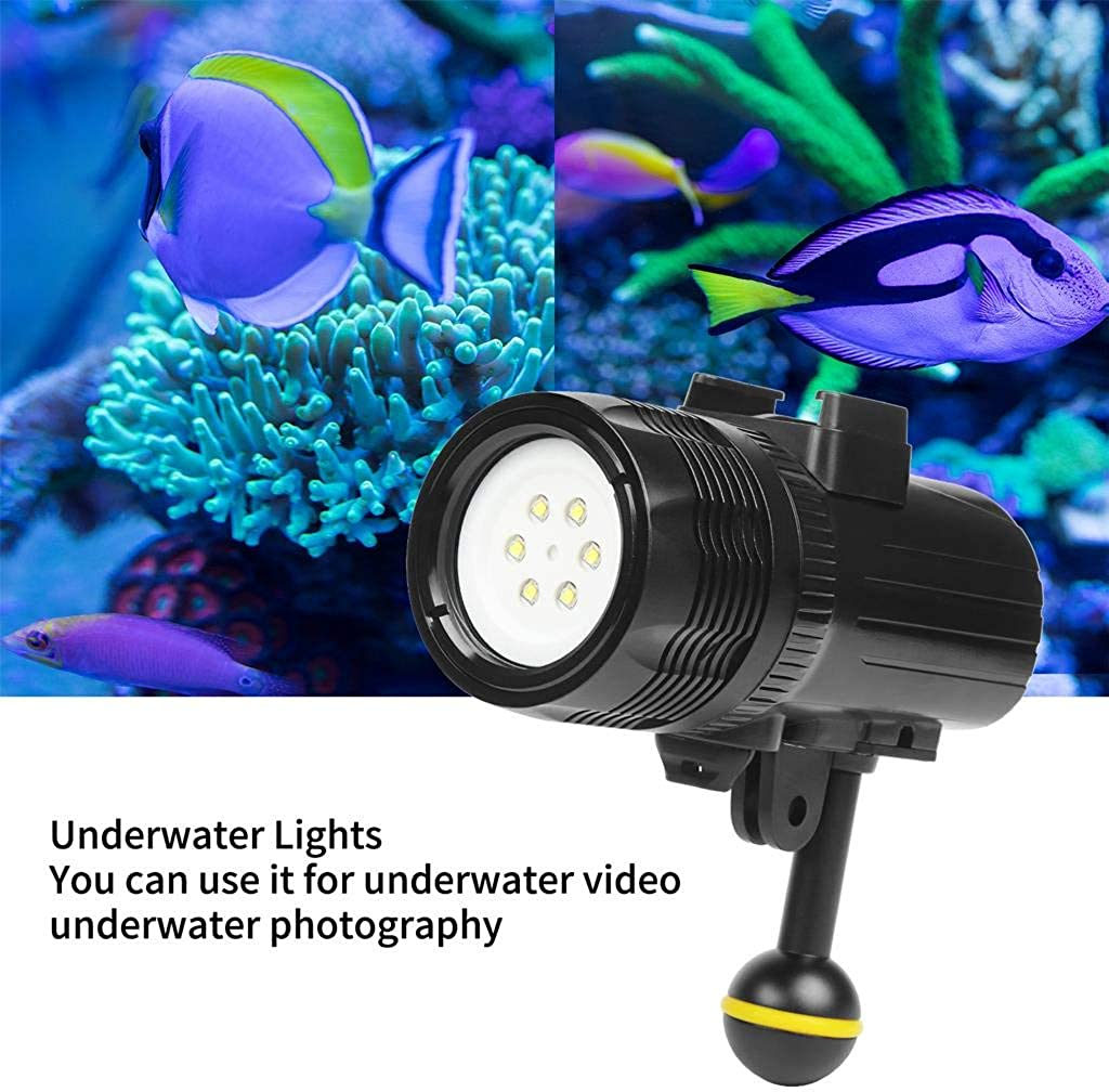 Dolloress Shoot 1000LM Underwater Diving Flashlight Torch Light for DJI Osmo Action