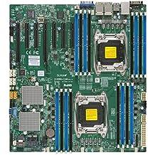 Supermicro Dual LGA2011, Intel C612, DDR4, SATA3 & USB3.0, V & 4GbE, EATX Motherboard X10DRH-ILN4-O