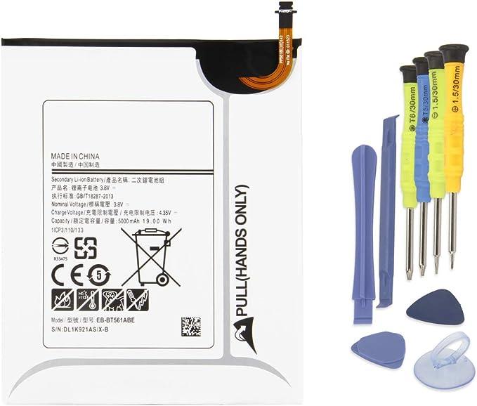 """Tools OEM Samsung Galaxy Tab E 9.6/"""" Battery SM-T560 EB-BT561ABE 5000mAh"""