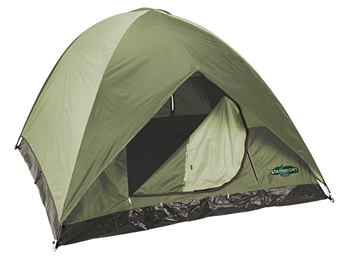 Stansport Hunter Series Trophy Hunter Tent (Forest Green/Tan 7-Feet X  sc 1 st  Amazon.com & Amazon.com : Stansport Hunter Series Trophy Hunter Tent (Forest ...