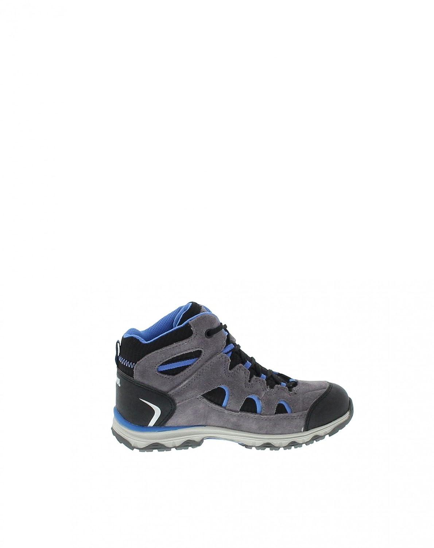 Meindl 2096-31 Stra Junior Mid GTX Anthrazit//Blau //Kinderschuhe//Wanderschuhe //Wasserdicht//Atmungsaktiv