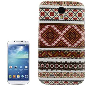 Aztec Tribal Pattern New Stylish Plastic Funda Retro Case Carcasa Para Samsung Galaxy S4 i9500 /