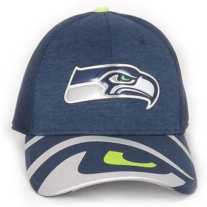 Gorra New Era – 39Thirty Nfl Seattle Seahawks Draft 393 azul/verde ...