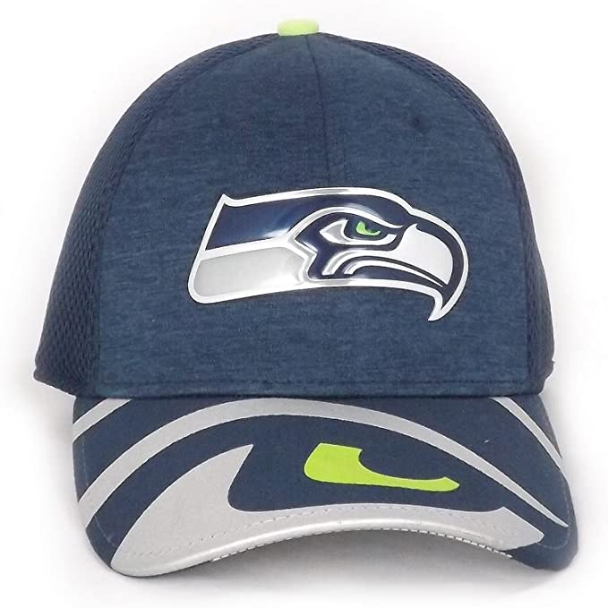 Gorra New Era – 39Thirty Nfl Seattle Seahawks Draft 393 azul/verde ...