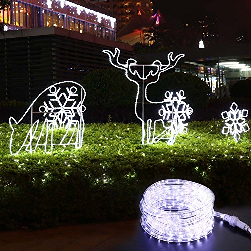 Brizled 18ft 216 led rope lights 120v ul listed plugin rope lights brizled 18ft 216 led rope lights aloadofball Image collections