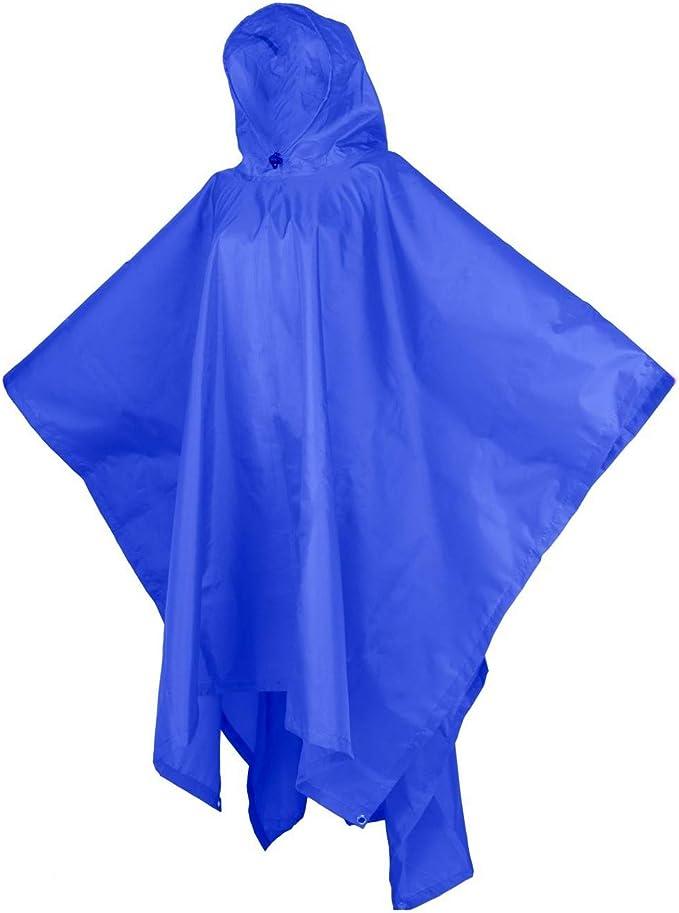 LIVACASA Regenponcho Unisex Wasserdicht Leicht Regenmantel Schulranzen Atmungsaktiv Regenjacke Tasche Outdoor Regen Overall Reflektoren mit Tiermuster Kapuze f/ür Jungen M/ädchen Gr/ün L
