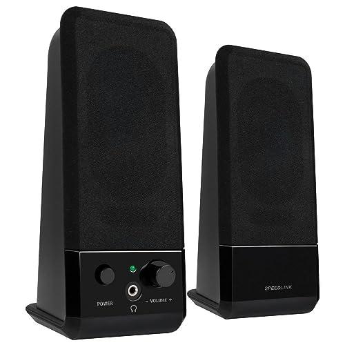 SPEEDLINK Event USB 2.0 Stereo Speakers - Black
