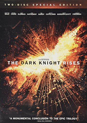 THE DARK KNIGHT RISES TWO DISK SPECIAL EDITION (The Dark Knight Rises Behind The Scenes)