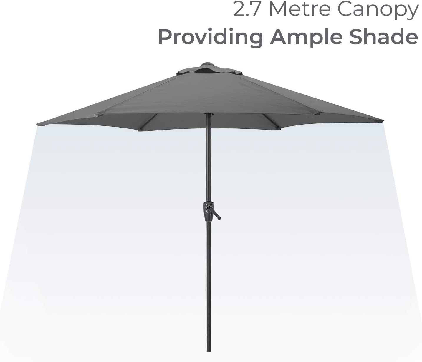 JVSISM Umbrella Base Weight Cantilever or Outdoor Patio Umbrella Stand Replaces Ugly Sand Bags