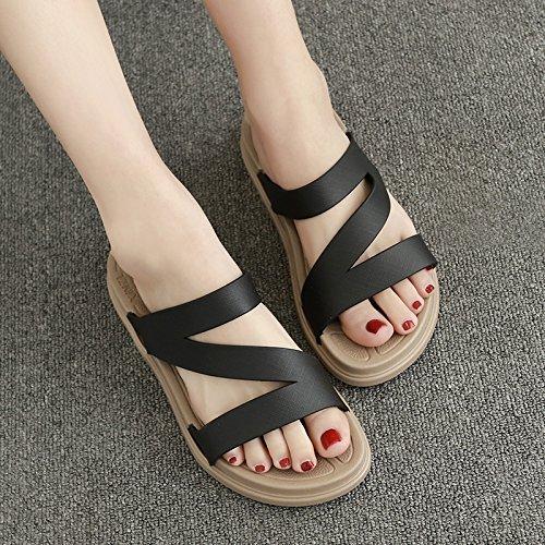 YMFIE brown Estate sandali piscina sandali sandali scarpe Dark sandali pesanti sandali qZ4aSqf
