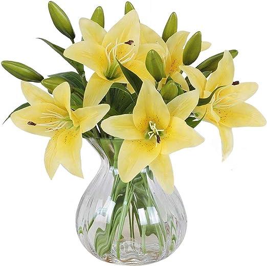 Mode Rose Künstliche Blume Latex Real Touch Braut Hochzeit Bouquet Home Decor