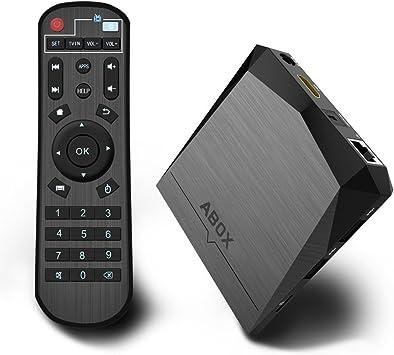 Globmall - TV Box Android 6.0, 2 GB de RAM, 8 GB de ROM, AmlogicS905X 64 bits, Quad Core A1 Plus, compatible con 4 K (60Hz), Full HD/H.265/Wifi 2,4 GHz: Amazon.es: Electrónica