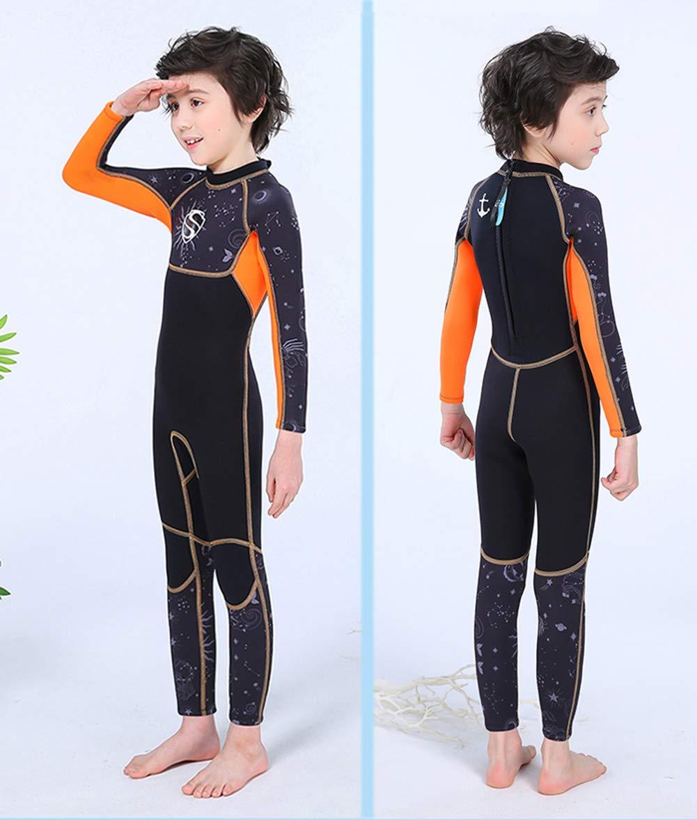 Amazon.com: Traje de neopreno para niños de cuerpo completo ...