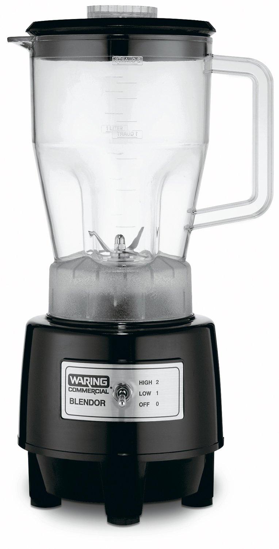 Waring HGB140 Batidora de vaso 1.9L Negro - Licuadora (1,9 L, Paso, 24500 RPM, Batidora de vaso, Negro, cETLus, NSF): Amazon.es: Hogar