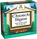 Church Signs 2018 Day-to-Day Calendar