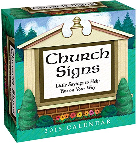 Church Signs 2018 Day-to-Day Calendar (Church Calendar)