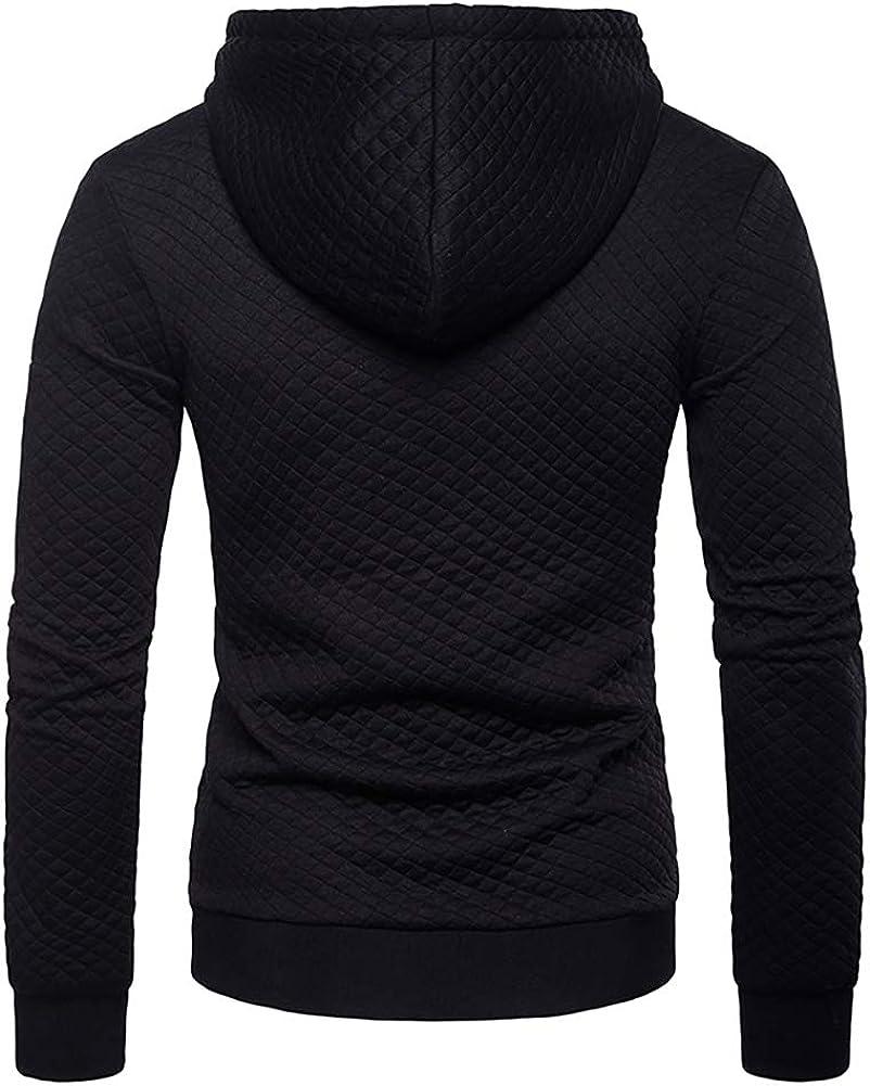 VANVENE Mens Full Zip Hoodie Sweatshirts Casual Long Sleeve Sport Hoody Jacket