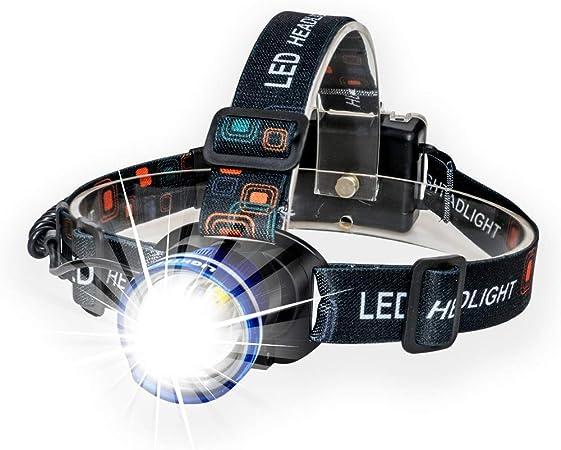 Nouveau 3 DEL 6000 lm Rechargeable Headlamp Headlight Head Torch Lampe