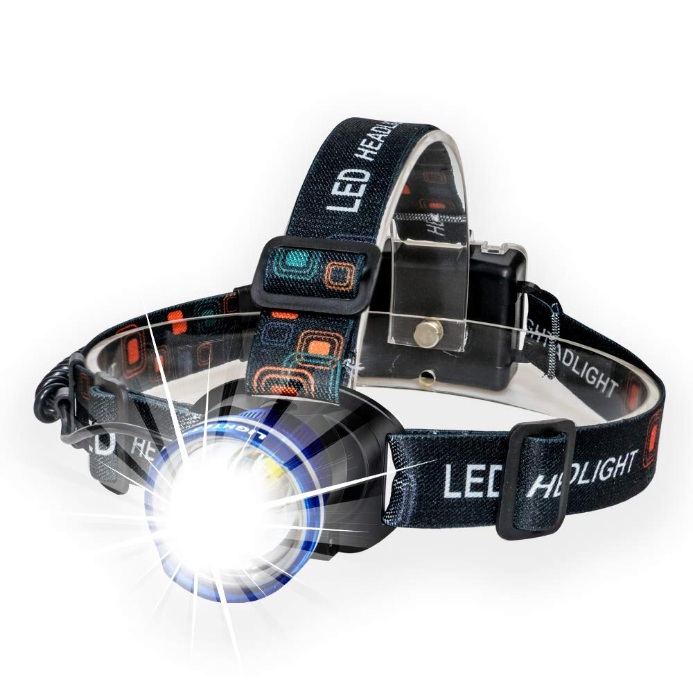 Zo Best and Brightest Broadbeam Spotlight Headlight SUPER BRIGHT LED Headlamp