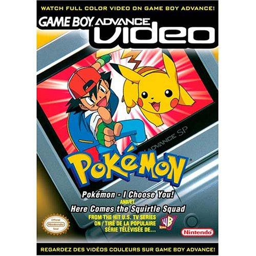 Pokemon Choose Squirtle Game Boy Advance