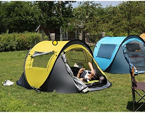 Tienda Doble automático de Velocidad Libre Abierta portátil Engrosamiento Salvaje Camping Familia Tienda Impermeable al Aire Libre 2 Personas Rollsnownow ( Design : D )