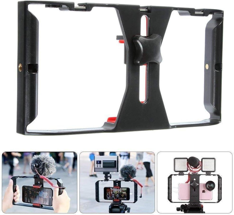 Smartphone Video Rig, películas para teléfono Mount Handle Grip ...