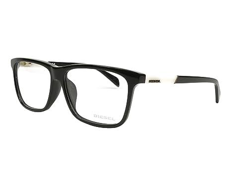 Amazon.com: Diesel Rx Eyeglasses Frames DL5131-F 001 59-14-150 Shiny ...