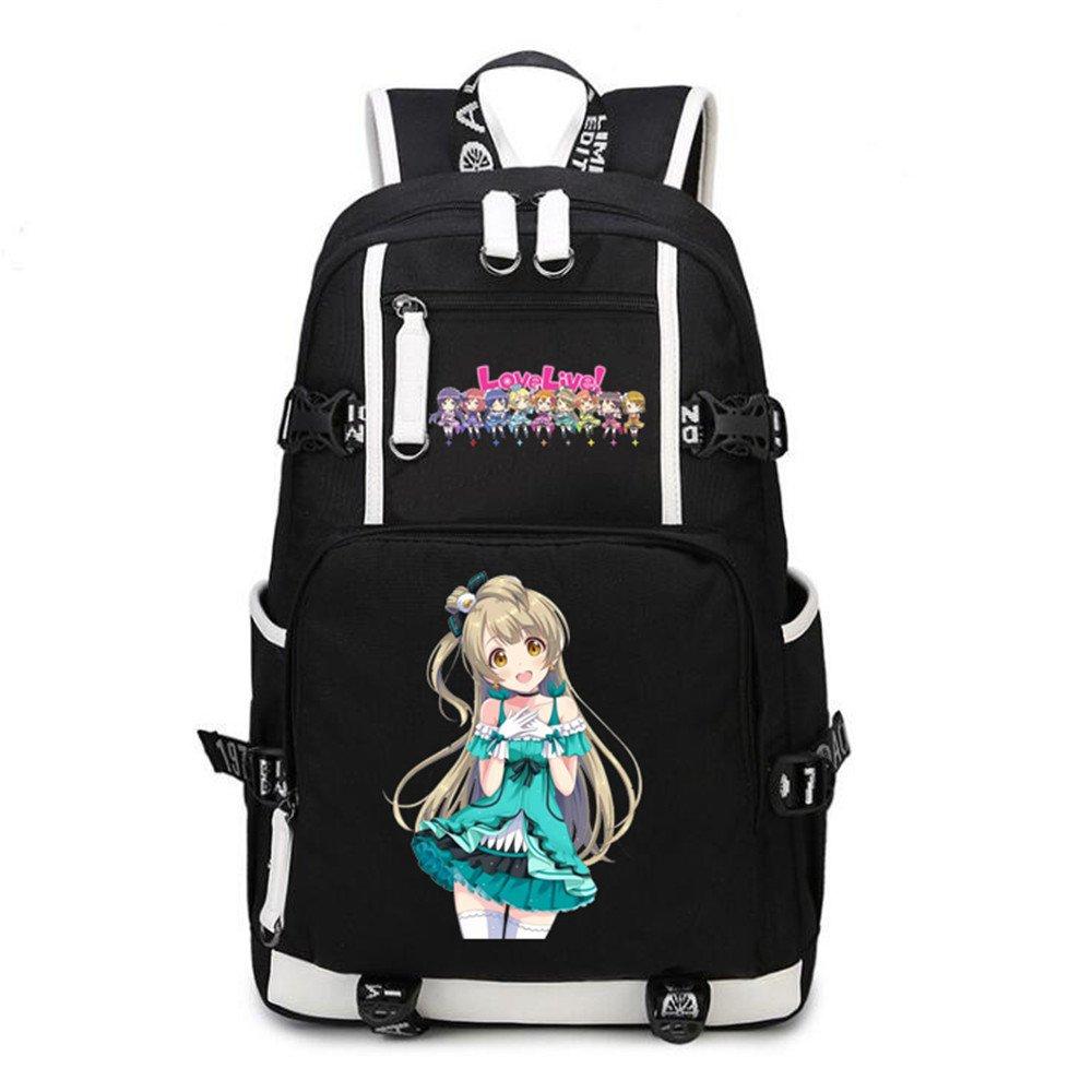 Siawasey Anime Love Live! Cosplay Backpack Daypack Bookbag Laptop Bag School Bag