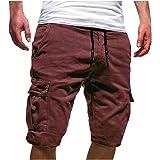Mens Casual Joggers Pants Sweatpants Cargo Combat Loose Active Sports Trousers