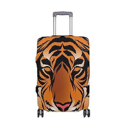 ALINLO Bengal Tiger - Funda Protectora para Maleta de ...