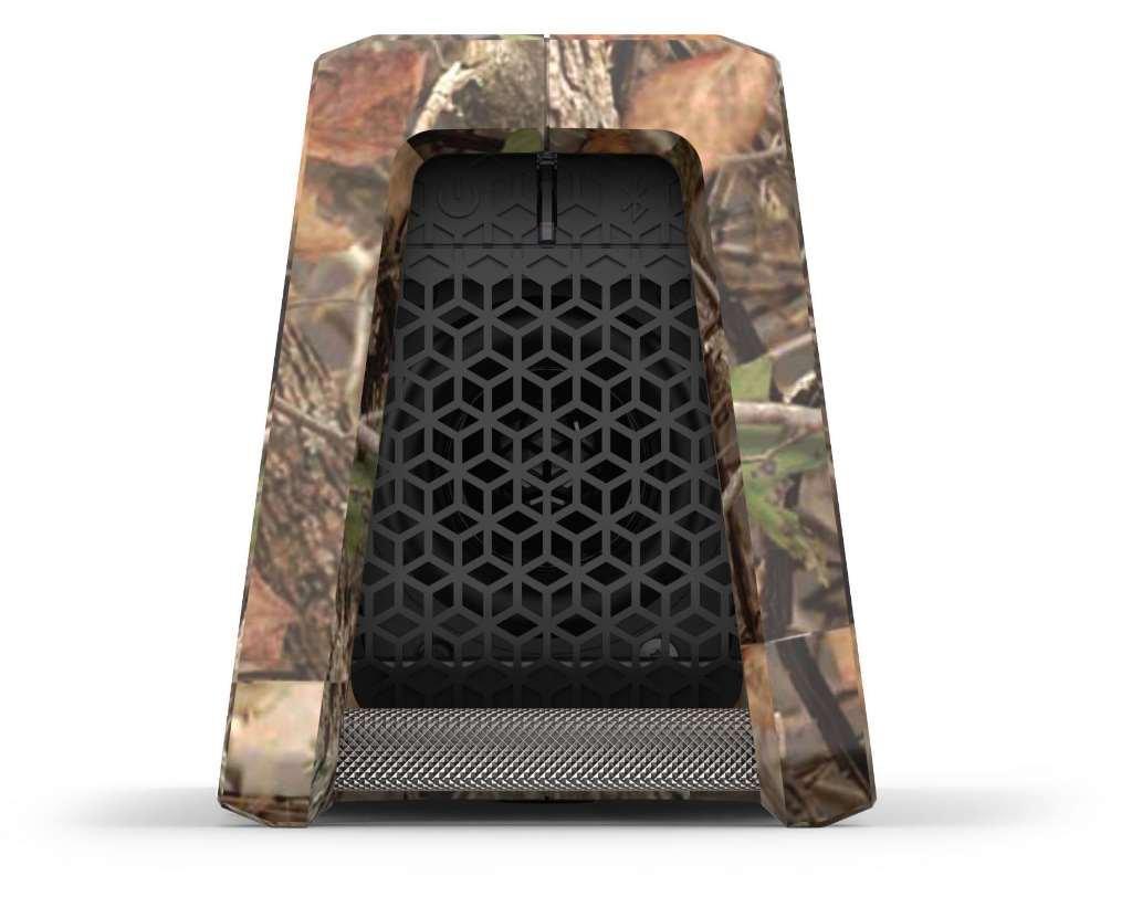 Fugoo Tough Camo Edition Bluetooth Speaker & Jacket Case Set - Portable Surround Sound Speakerphones w/ Custom Reinforced Cover - Waterproof Water-Resistant by Fugoo (Image #6)