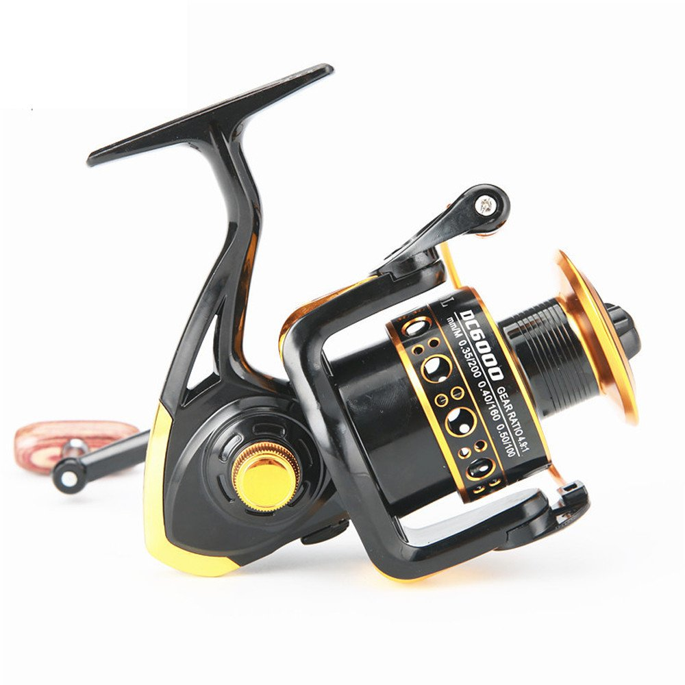 SMyFone Outdoor Fishing Reel Bearing Balls Spinning Super Strong 5.5:1 Carp Spinner for FDDL