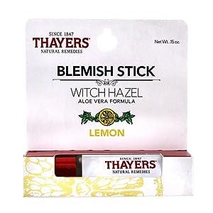 THAYERS Lemon Oil Control Blemish Stick, 0.15 oz
