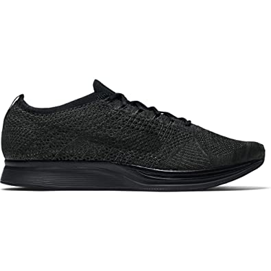fb9810e9cd4b Nike Flyknit Racer Triple Black Midnight Blackout - Black Black-Anthracite  Trainer Size 6