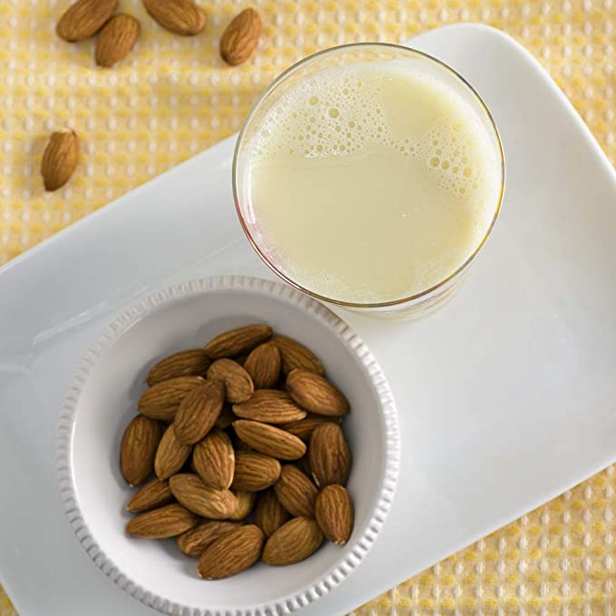 Alimentos Pacífico - Original sin azucarar de la leche orgánica de la almendra - 32 oz.: Amazon.es: Salud y cuidado personal