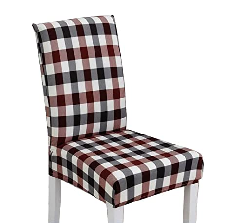 Magnificent Amazon Com Black Temptation Plaid Stylish Dining Chair Gmtry Best Dining Table And Chair Ideas Images Gmtryco